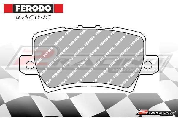 Zadní závodní brzdové destičky Honda Civic VIII (2006 ) Ferodo FCP1862H 5af521dba8